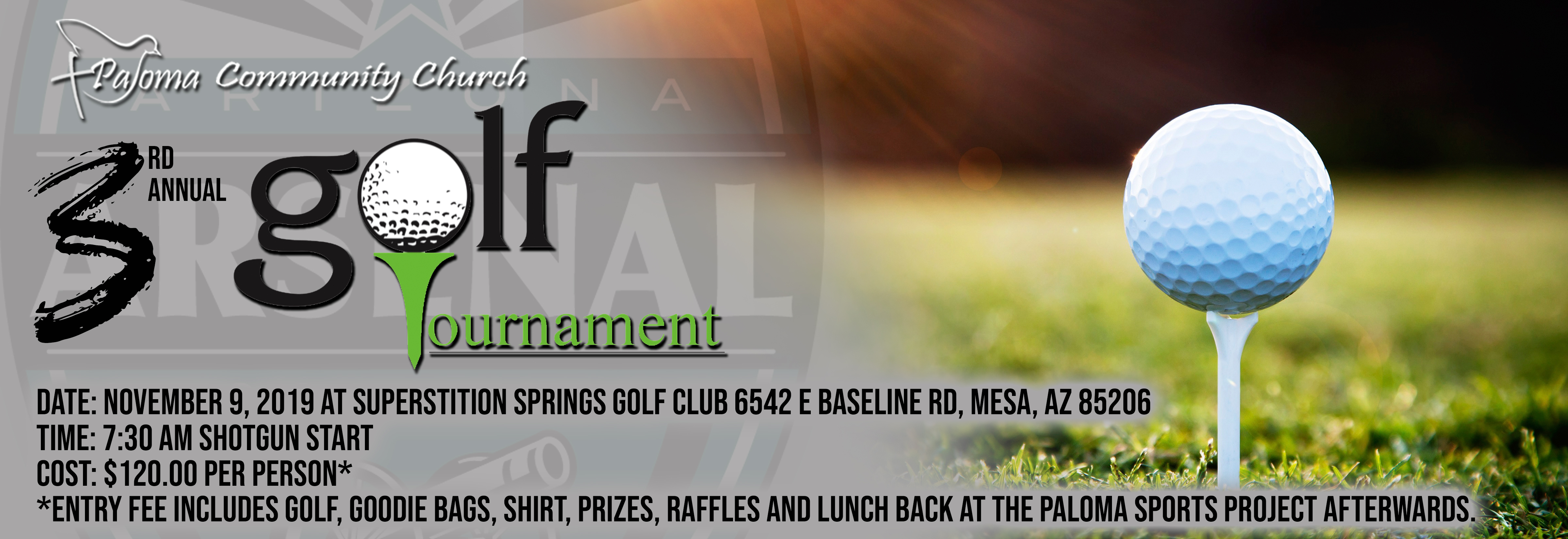Paloma Golf Tournament